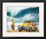 Buttercup Buick Print by Scott Westmoreland