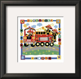 Firetruck Posters by Cheryl Piperberg