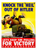 Heil out of Hitler Giclee Print