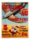 Cent Mille Lieues dan les Airs Giclee Print