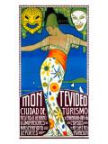 Montevideo, Cuidad de Turismo Giclee Print