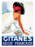 Gitanes Giclee Print