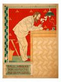 Paul Hankar Architecte Giclee Print