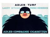 Adler Turf Giclee Print
