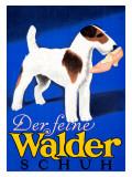 Der feine Walder Schuh Giclee Print