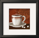Gourmet Coffee Posters by Kathy Middlebrook