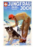 Jungfrau-Joch Giclee Print