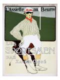 Les Sportsmen Giclee Print