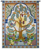 Arboles de la Vida Wall Tapestry