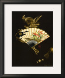 Oriental Fan I Prints by Nancy Slocum