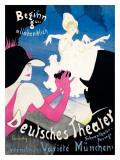 Deutsches Theater Giclée-Druck