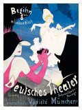 Deutsches Theater Giclee Print