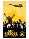 Air Afrique Giclee Print