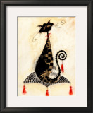 Thomas the Cat Posters by Marilyn Robertson