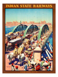 Indian State Railways Giclee Print