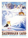 Salzburger Land Reproduction procédé giclée