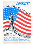 Long Island Women, Defense Day Giclee Print