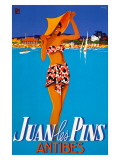 Juan les Pins Giclee Print