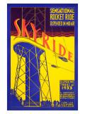 Skyride Giclee Print