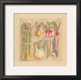 Vegetables I, Asparagus Poster by Laurence David