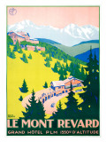 Le Mont Revard Giclee Print