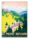 Le Mont Revard Giclee Print