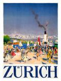 Zürich Giclée-Druck