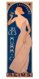 Champagne Ju Les Mumm Giclee Print