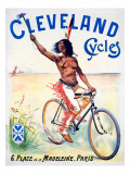 Cleveland Cycles Giclee Print