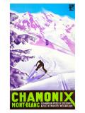 Chamonix Giclee Print