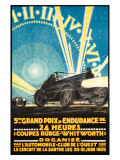 24 Heurs Grand Prix, 1925 Giclee Print
