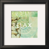 Reflections: Relax Print by Jessica Vonammon