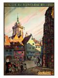 Chemins de Fer d'Alsace Giclee Print