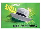 Summer Shell Giclee Print