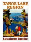 Tahoe Lake Region Southern Pacific Giclee Print