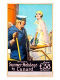 Atlantic Summer Holidays Giclee Print