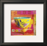 Oriental Passion Print by Linda Maron