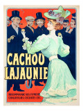 Cachou Lajaunie Giclee Print
