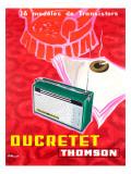 Ducretet Thomson Giclee Print