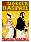 Liqueur Raspail Giclee Print