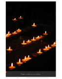 To Light a Candle Is to Cast a Shadow Prints by Graham Rhodes
