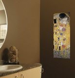 The Kiss Wall Decal by Gustav Klimt