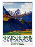 Rhatisce Bahn Giclee Print