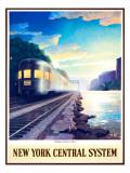 Twilight on the Hudson River Giclee Print