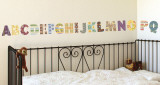 Alphabet Arts Wall Decal