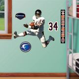 Walter Payton Fathead Junior Wall Decal