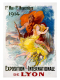 Exposition Internationale de Lyon Giclee Print