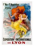 Exposition Internationale de Lyon Giclee Print