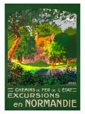 Excursions en Normandie Giclee Print