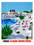 Furness Bermuda Cruises Giclee Print